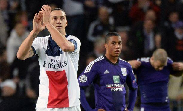 Zlatan Ibrahimovic on Ranskan liigan suurin tähti.