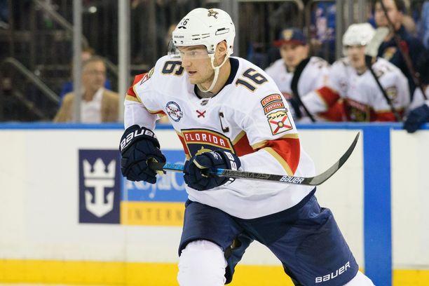 Florida Panthersin kapteeni Aleksander Barkov sai tililleen yhden syöttöpisteen ottelussa New Jersey Devilsiä vastaan.