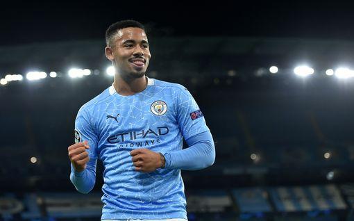 Manchester Citylle yllättävää apua maalintekoon – pelastaako Gabriel Jesus joukkueen?