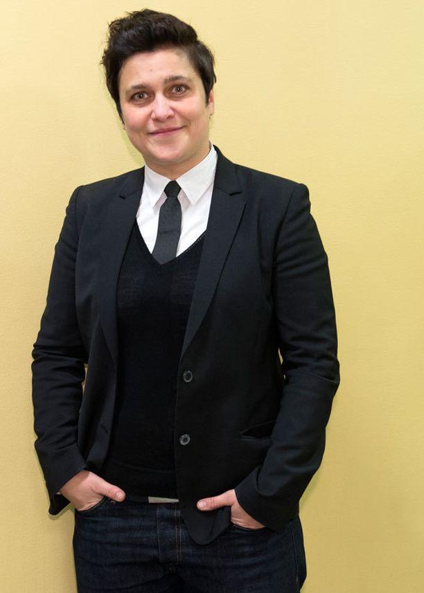 Silvia Modig pukeutui tyylilleen uskollisena.