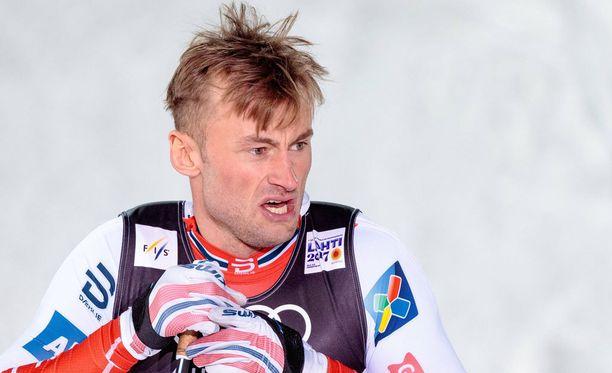 Petter Northug sivalsi hänelle piruillutta ruotsalaishiihtäjää.