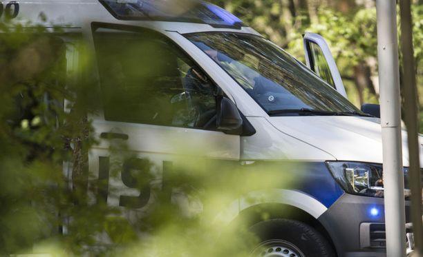 Epäilty rikos tapahtui Forssassa viime sunnuntaina. Kuvituskuva.