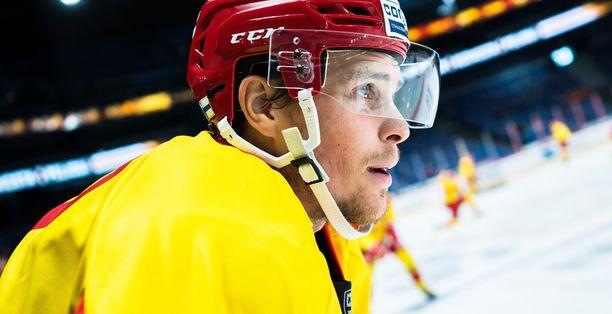 Mikko Lehtonen odotti innolla pelejä Pietarin SKA:ta vastaan.