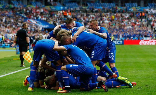 Islannilla riitti juhlittavaa.