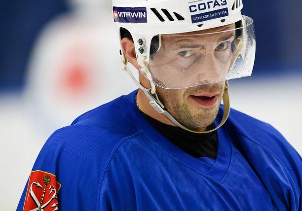 Pavel Datsjuk palaa vanhaan kotikaupunkiinsa.