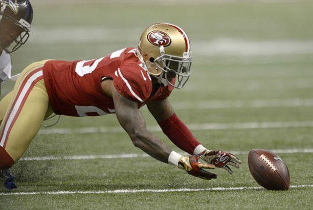 Tarell Brown pelaa kulmapuolustajana San Francisco 49ersissä.