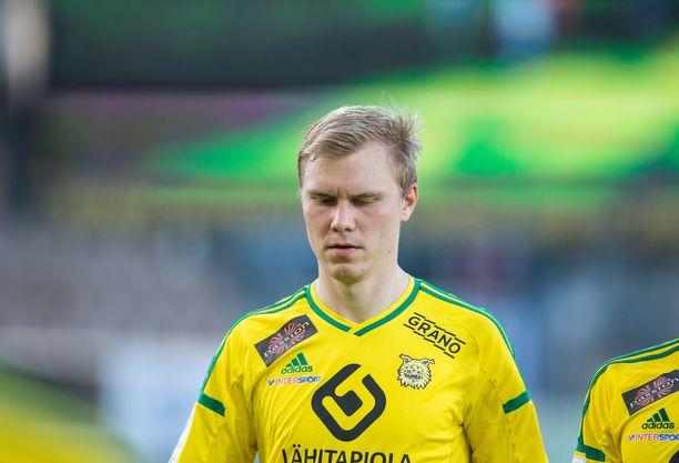 Mika Lahtinen pelasi urallaan Ilveksessä