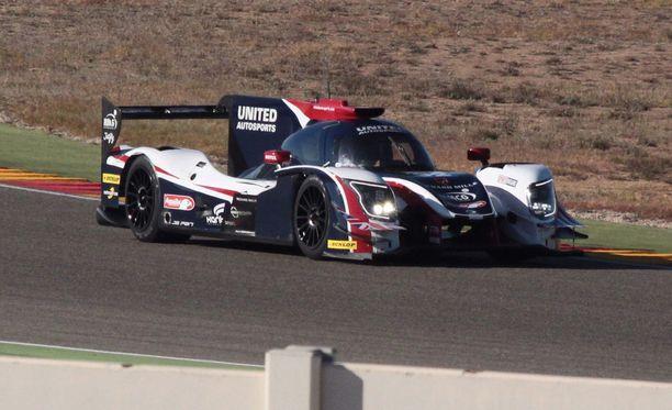 Fernando Alonso testasi tällaista Ligieriä tiistaina.