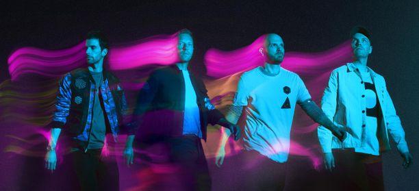 Coldplayn uutuuskappale soi avaruusasemalla.