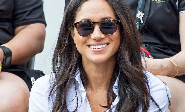 Näyttelijä Meghan Marklea seurataan etenkin Briteissä tiiviisti, sillä hänestä odotetaan uutta prinsessaa.