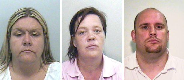 Vuonna 2009 tuomion saivat Vanessa George, Angela Allen ja Colin Blanchard. Kolmikko tutustui toisiinsa Facebookissa.