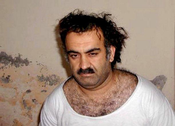 Khalid Sheikh Mohammed istuu Guantanamossa.