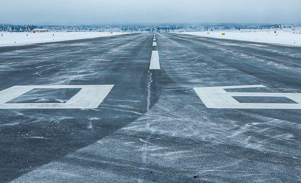 Lentokentällä sattui vakava vaaratilanne. Kuvituskuva.
