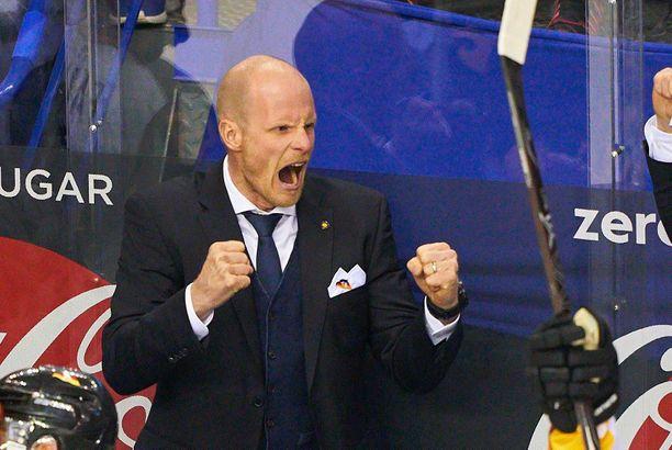 Toni Söderholmin Saksa kärsi ruman tappion.