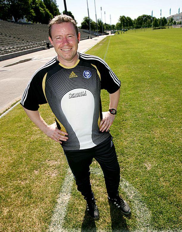 HJK:n Keith Armstrong on valittu Vuoden valmentajaksi.