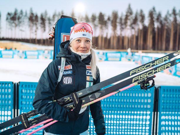 Kaisa Mäkäräinen voitti uransa aikana uoden suomalainen ampumahiihtäjä -palkinnon peräti 12 kertaa.