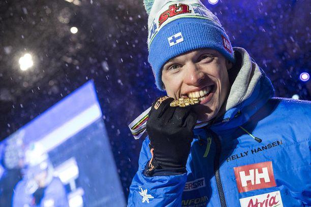 Iivo Niskanen oli Suomen joukkueen paras urheilija. Se oli toinen henkilökohtainen MM-kulta suomalaishiihtäjälle tällä vuosikymmenellä.