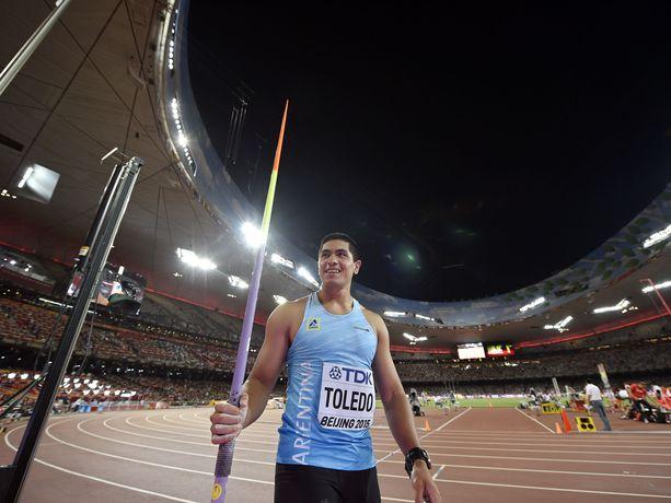 Braian Toledon tähtäin oli ensi kesän olympialaisissa.