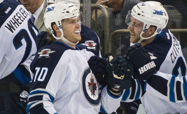 John Albert maistoi NHL-vauhtia kaudella 2013-14.