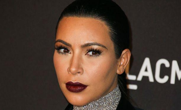Tosi-tv-tähti Kim Kardashian laskettu aika on jouluna.
