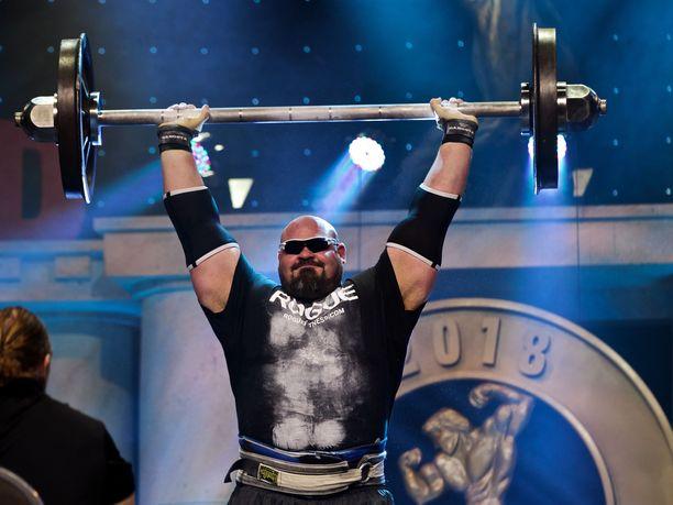 Brian Shaw on maailman tunnetuimpia voimamiehiä.