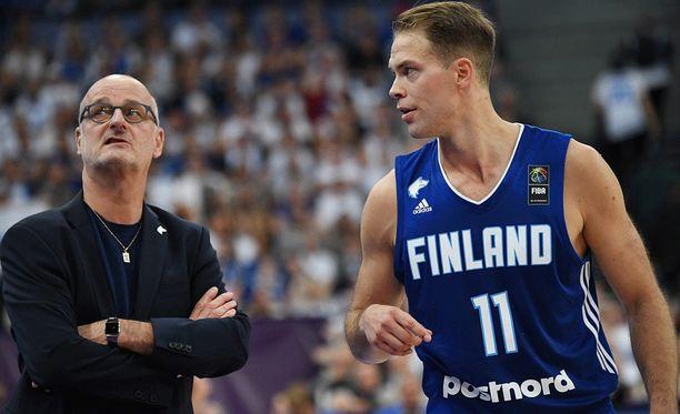 Päävalmentaja Henrik Dettmann saattaa antaa Petteri Koposelle lepoaikaa.