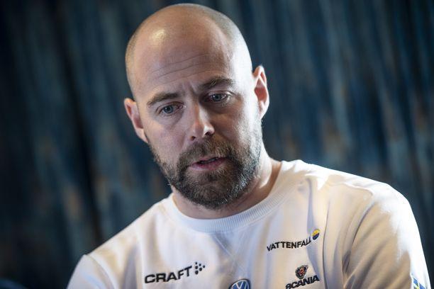 Rikard Grip toimii Ruotsin hiihtomaajoukkueen valmentajana.