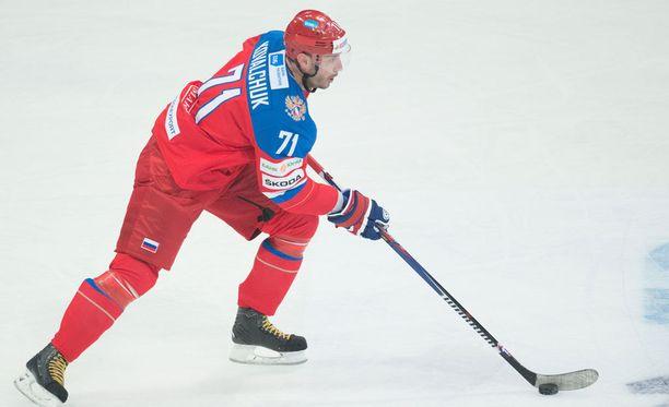 Ilja Kovaltshuk on ollut läpi 2000-luvun vakiokasvo Venäjän maajoukkueessa. Tällä kertaa MM-kinkerit jäävät väliin loukkaantumisen takia.