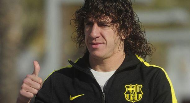 Carles Puyol on kantanut Barcelonassa kapteenin nauhaa vuodesta 2004 lähtien.