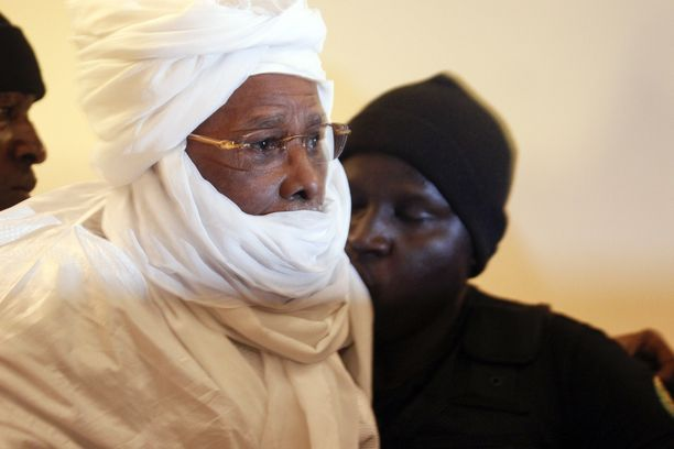 Hissène Habré oikeudessa heinäkuussa 2015.