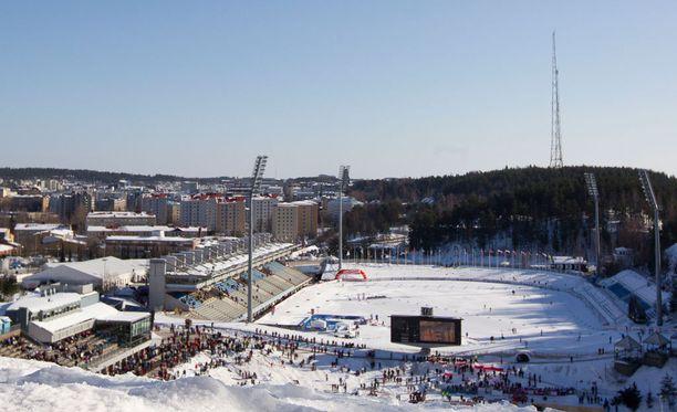 Lahden vuoden 2017 MM-hiihtojen valmisteluissa on tuhoutunut muinaisjäännöksiä.