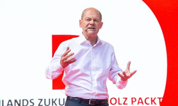 Olaf Scholz on tällä hetkellä ykkössuosikki tulevaksi liittokansleriksi.