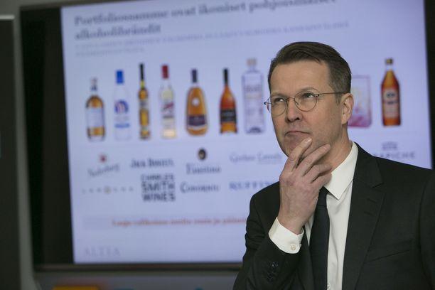 Altian toimitusjohtaja Pekka Tennilä.