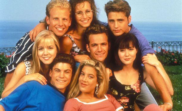 Beverly Hills 90210 oli suosittu teinisarja.