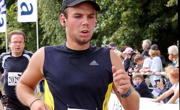 Myös Robert Brown oli Lubitzin (kuvassa) tavoin intohimoinen juoksija.