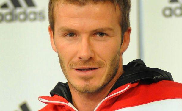 David Beckhamilla on nyt aikaa puuhailla lastensa kanssa.