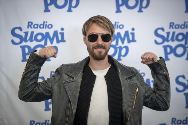 Leo vieraili Helsinki-päivän konsertin yleisössä.