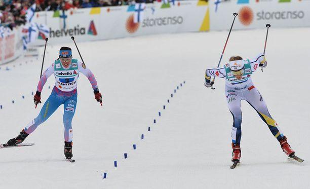 Lauantaina MM-hiihdoissa on vuorossa naisten 30 kilometrin vapaan kisa.