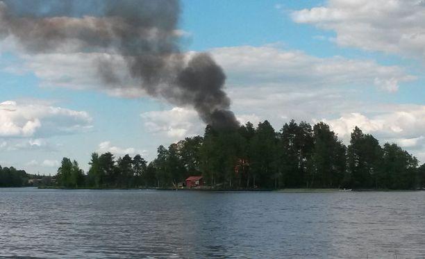 Seurakunnan kiinteistö sijaitsee Jyväskylässä Lehtisaaressa.