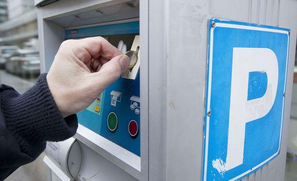 Pysäköintimittareiden kolikoita on anastettu Turussa hurjia määriä.