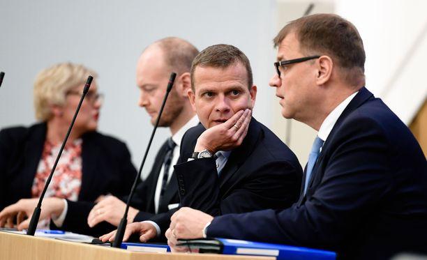 Eilen valtiovarainministeri Petteri Orpo (kok) esitteli budjettiesityksen pääkohdat aiemmin tällä viikolla.