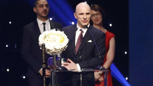 Jani Kallunki palkittiin viime tammikuun Urheilugaalassa.