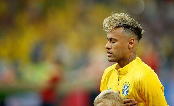 Neymar ja Brasilia aloittivat MM-kisat ottelulla Sveitsiä vastaan sunnuntaina illalla.