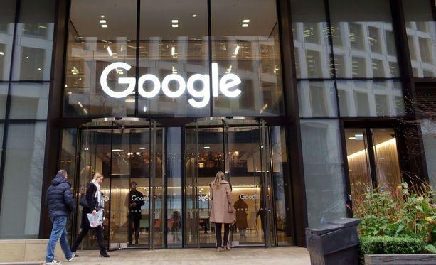 Google on haluttu työpaikka.