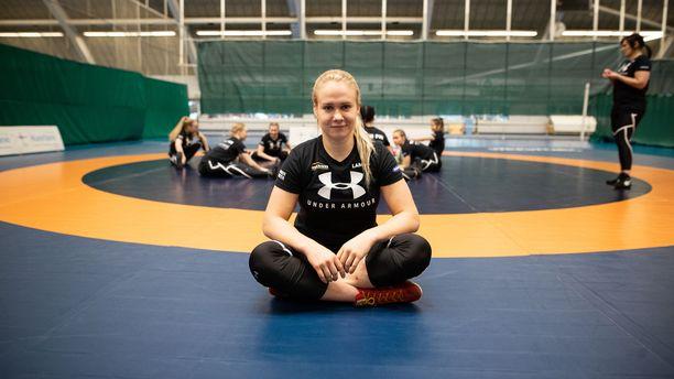 Petra Olli hakee olympiapaikkaa ensimmäisen kerran maaliskuussa järjestettävästä karsinnasta.