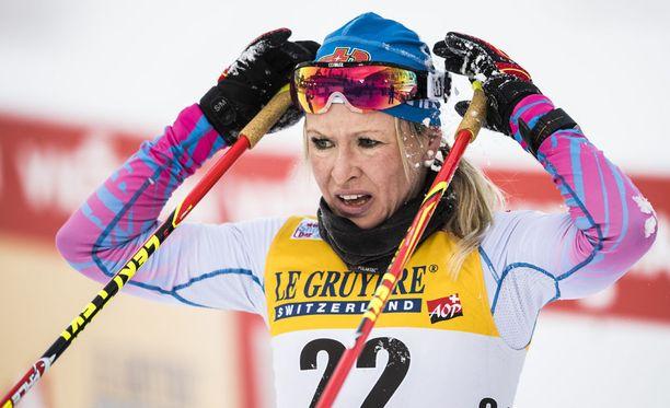 Riitta-Liisa Roposen sairausloma on ohi.