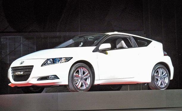 CR-Z on maukas pikkusportti, jossa on 1,5-litrainen bensamoottori sähkömoottorin kaverina.