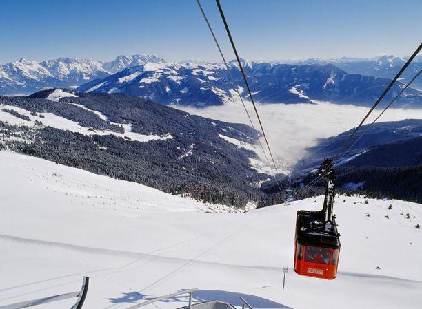 Zell Am See on monipuolinen hiihtokohde.