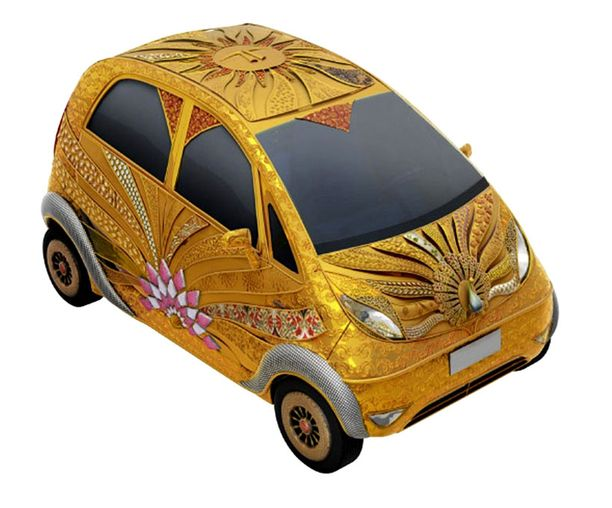 3,3 miljoonan Tata Nano GoldPlus.