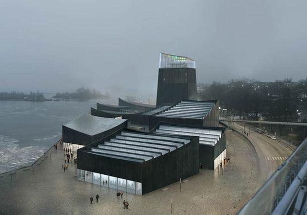 Museon suunnitelma koostuu toisiinsa yhdistetyistä paviljongeista, joista jokainen sulautuu kaupunkirakenteeseen.